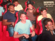 Shot Out of Cannon - Formula Rossa