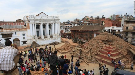 Durbar Square Earthquake Aftermath