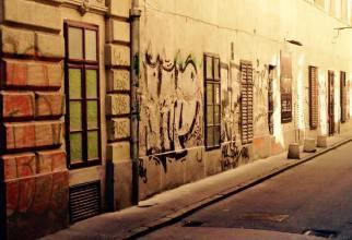 Vaci Utca Graffiti