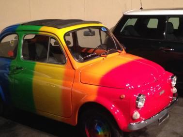 Rainbow Buggy